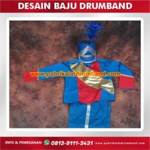 desain baju drumband