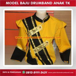 model baju drumband anak tk