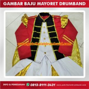 gambar baju mayoret drumband