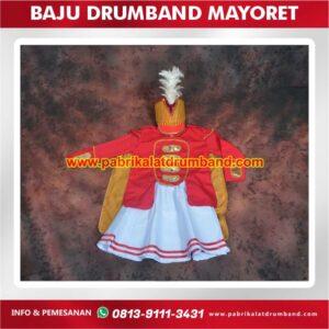 baju drumband mayoret
