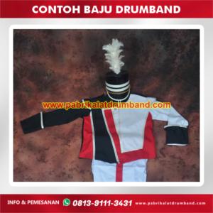 contoh baju drumband