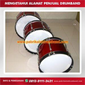 mengetahui alamat penjual drumband