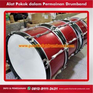 alat pokok dalam permainan drumband