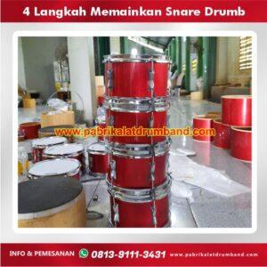 4 langkah memainkan snare drumb